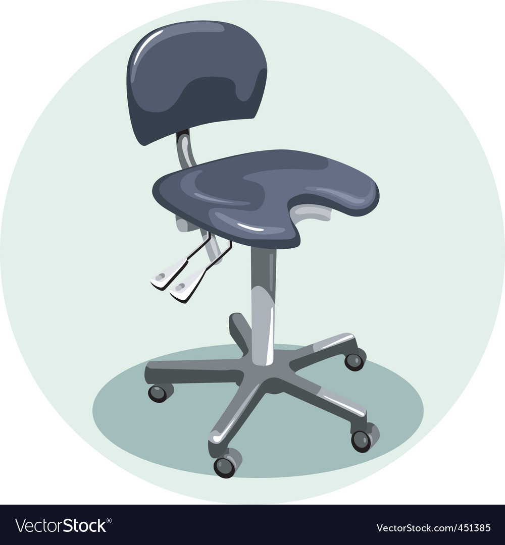 Medical chair vector | Price: 1 Credit (USD $1)