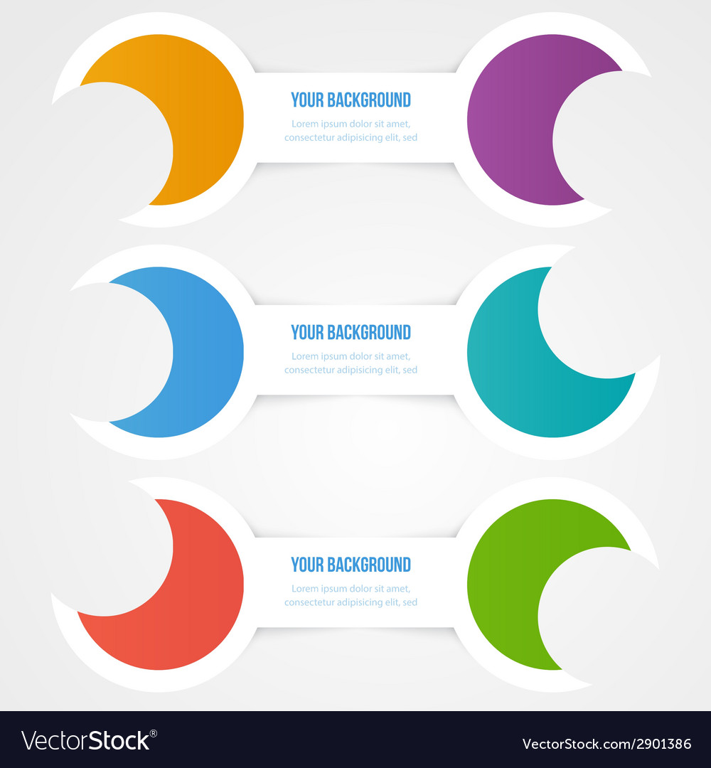 Abstract circles template object design vector   Price: 1 Credit (USD $1)