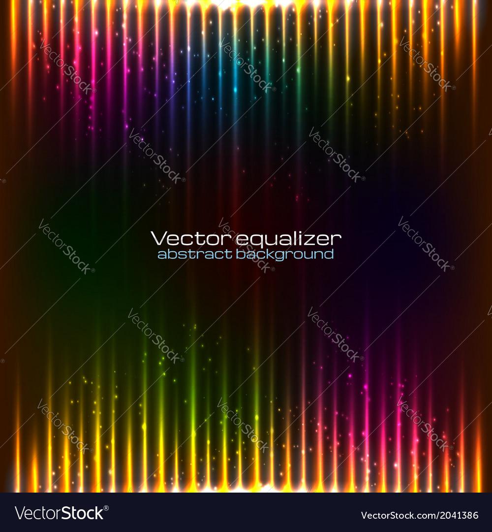 Neon lights background vector | Price: 1 Credit (USD $1)
