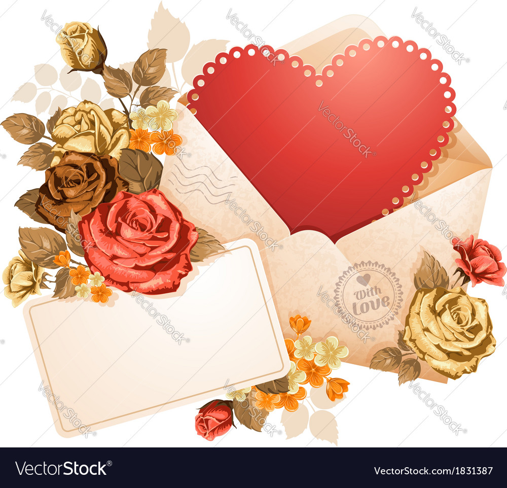 Congratulation on valentines day vector | Price: 1 Credit (USD $1)