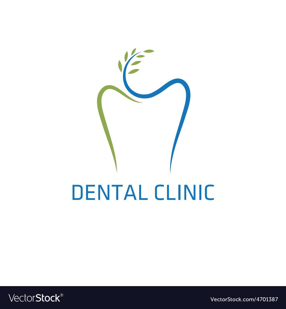 Dental clinic design template vector | Price: 1 Credit (USD $1)