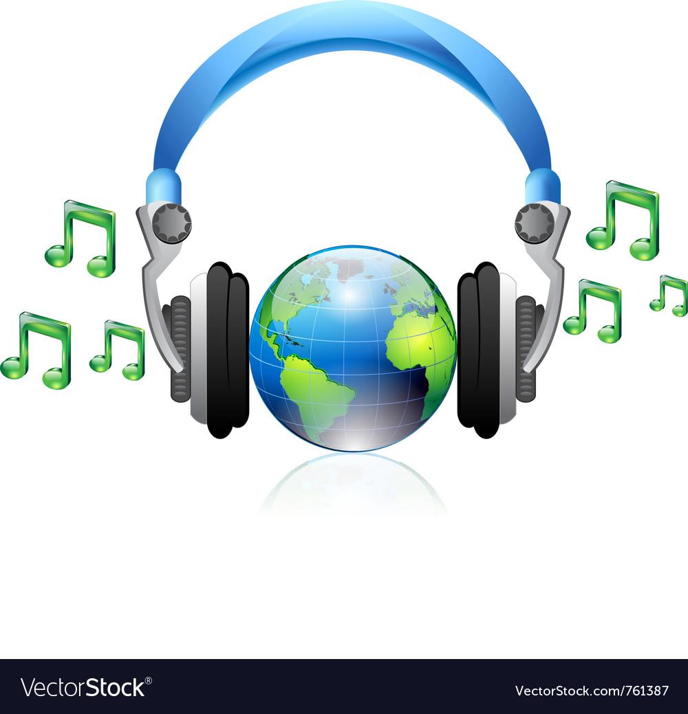 Music headphone vector | Price: 3 Credit (USD $3)