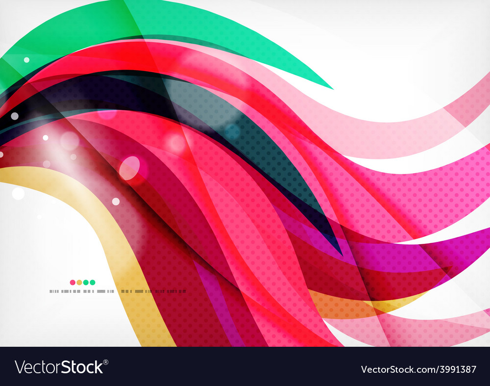 Purple rainbow swirl background vector | Price: 1 Credit (USD $1)