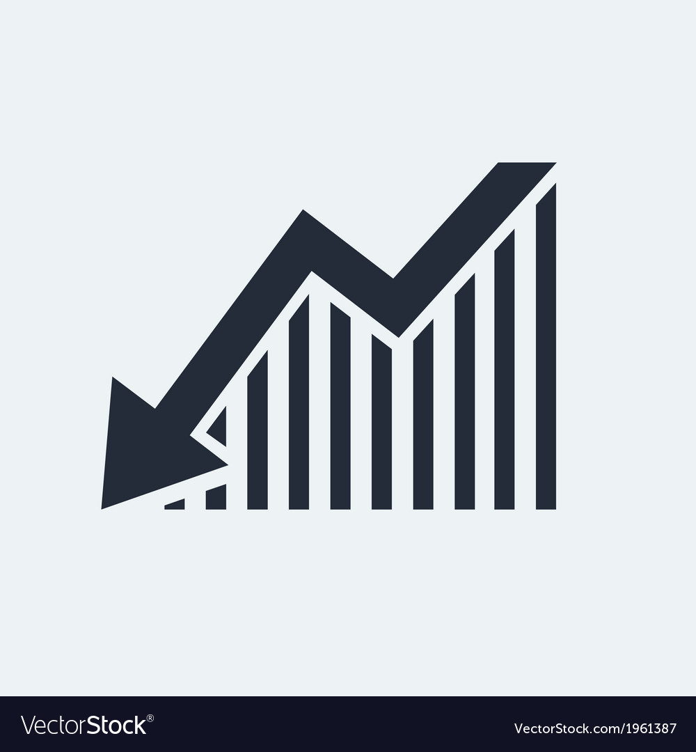 Statistic flat icon vector | Price: 1 Credit (USD $1)