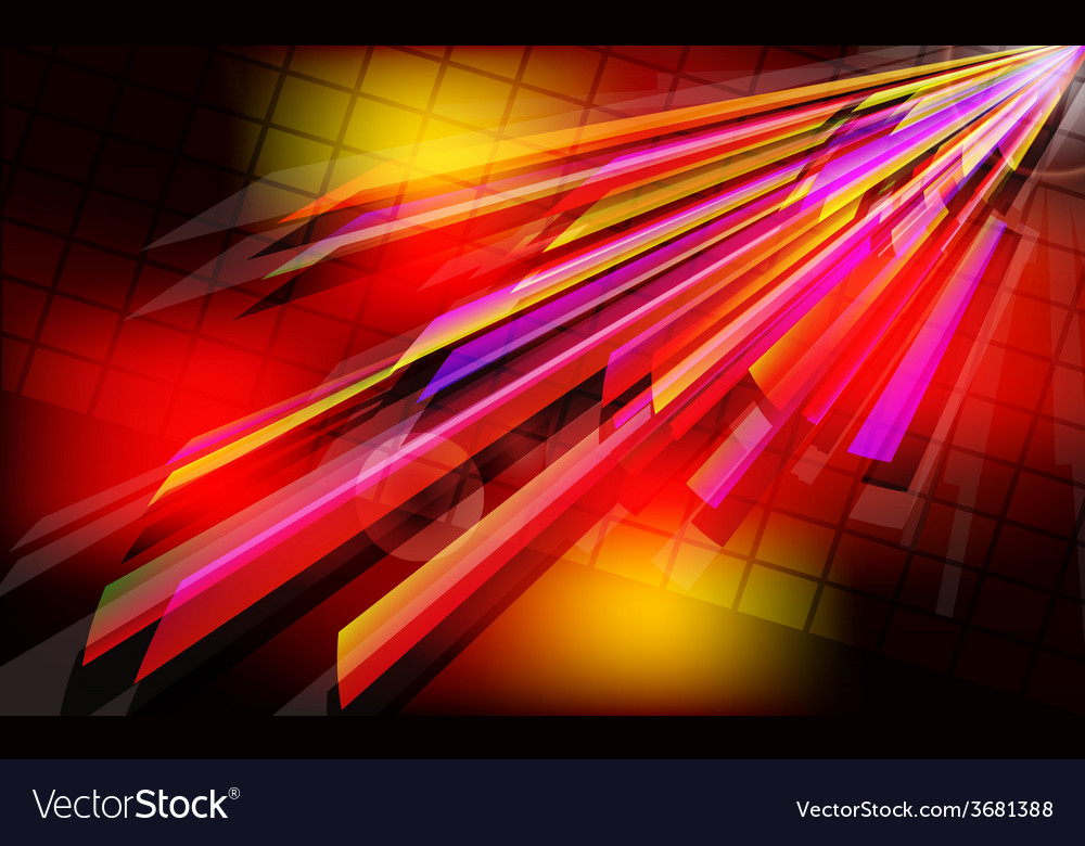 Abstract techno background with light effect vector | Price: 1 Credit (USD $1)