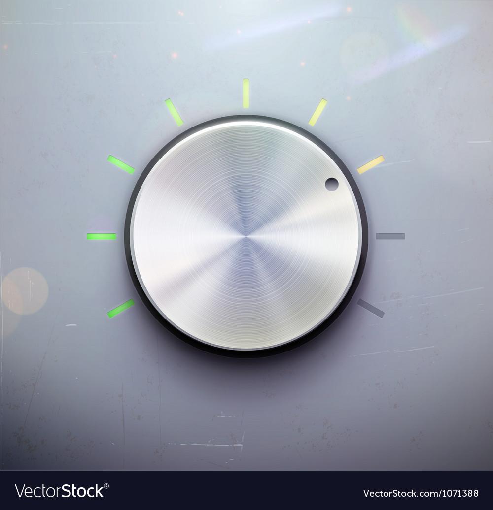 Control knob vector | Price: 3 Credit (USD $3)