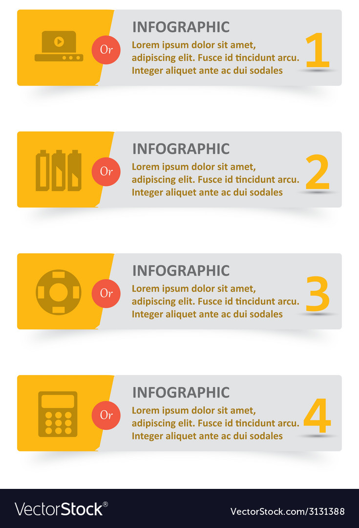 Infographic 64 vector | Price: 1 Credit (USD $1)