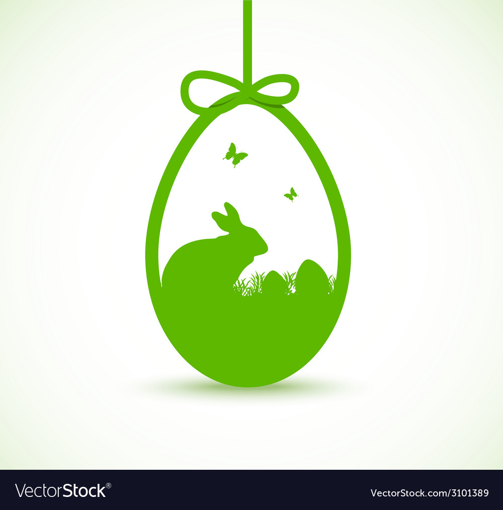 Decorative easter egg vector | Price: 1 Credit (USD $1)