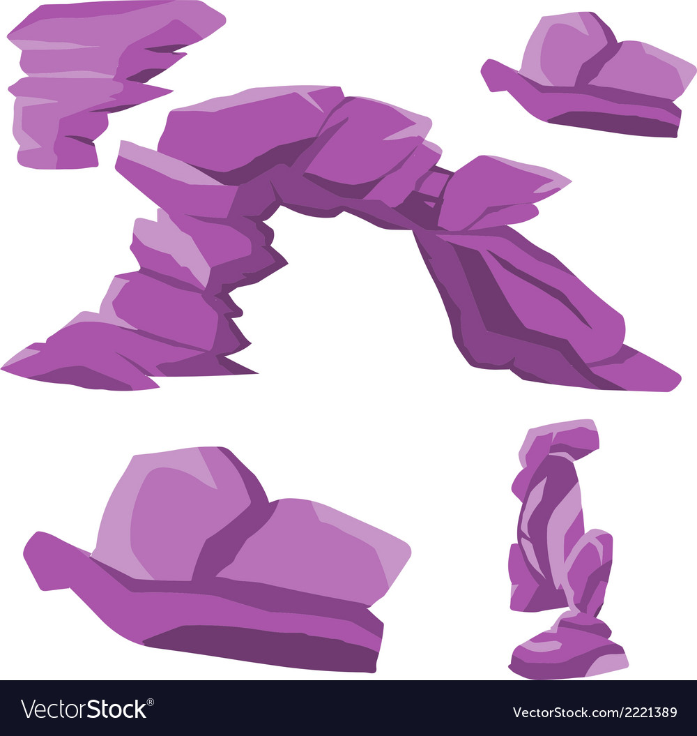 Rocky tower 02 vector | Price: 1 Credit (USD $1)