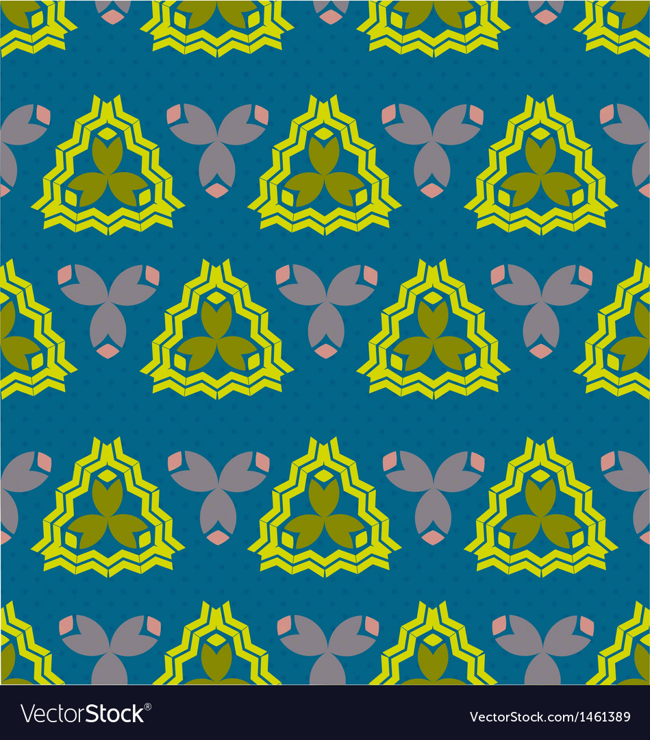 Seamless ornament pattern tile vector | Price: 1 Credit (USD $1)