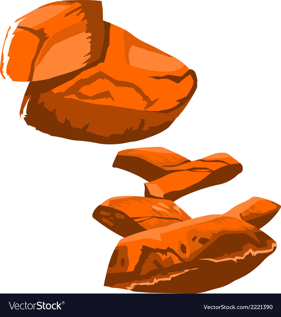 Big rock vector | Price: 1 Credit (USD $1)