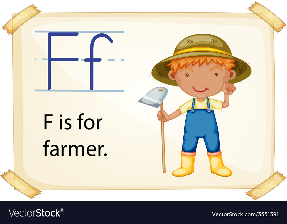 Alphabet f vector | Price: 1 Credit (USD $1)