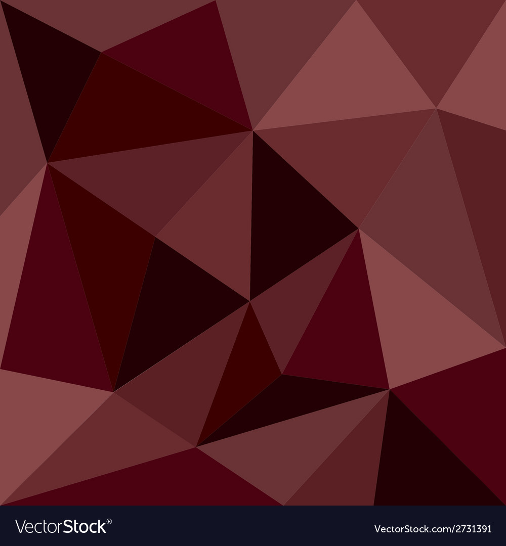 Dark brown triangle background or pattern vector | Price: 1 Credit (USD $1)
