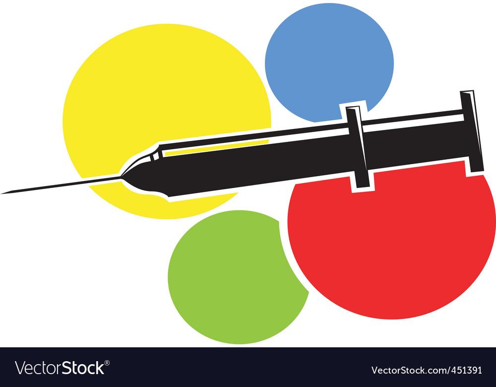 Syringe vector | Price: 1 Credit (USD $1)