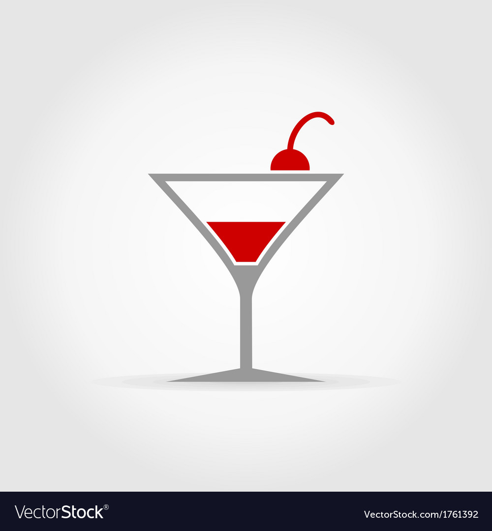 Alcoholic cocktail vector | Price: 1 Credit (USD $1)
