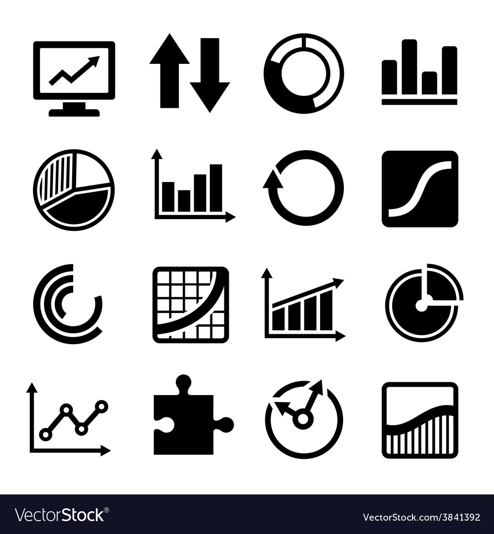 Business diagram and infographic icons set vector | Price: 1 Credit (USD $1)
