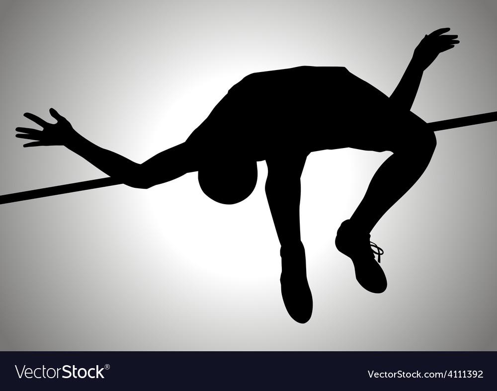 High jump vector | Price: 1 Credit (USD $1)