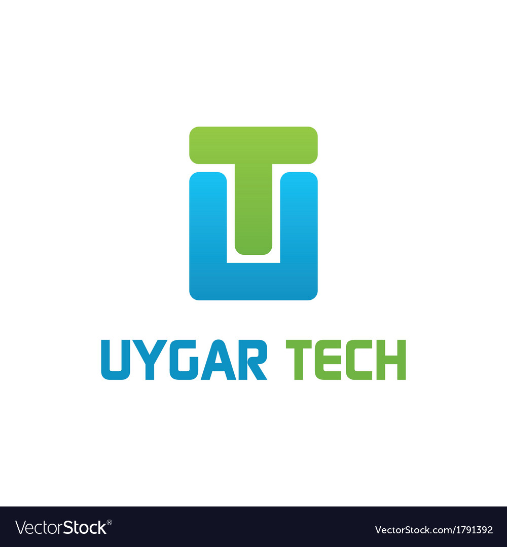 Uygar tech logo work vector | Price: 1 Credit (USD $1)