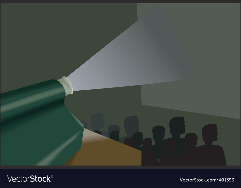 Audience at movies vector | Price: 1 Credit (USD $1)