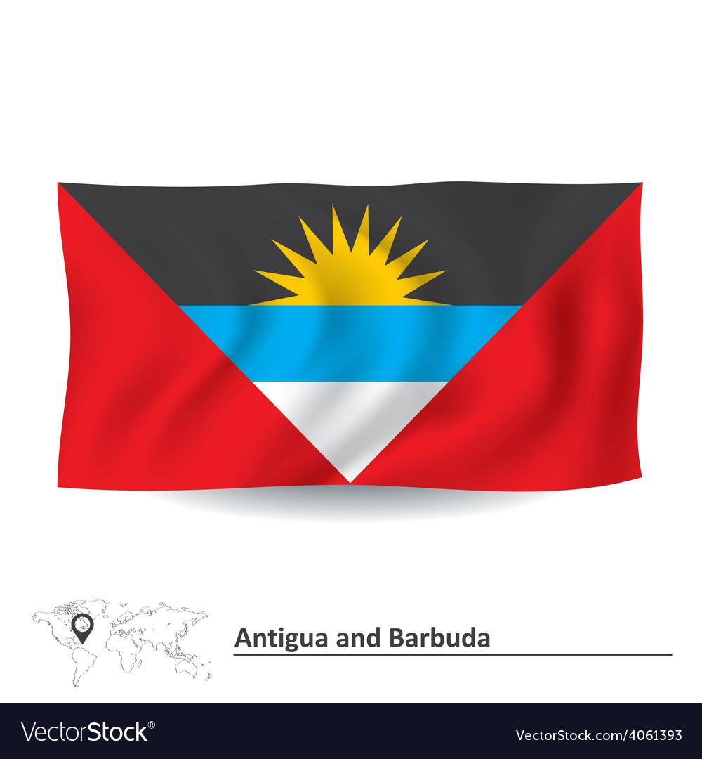 Flag of antigua and barbuda vector   Price: 1 Credit (USD $1)