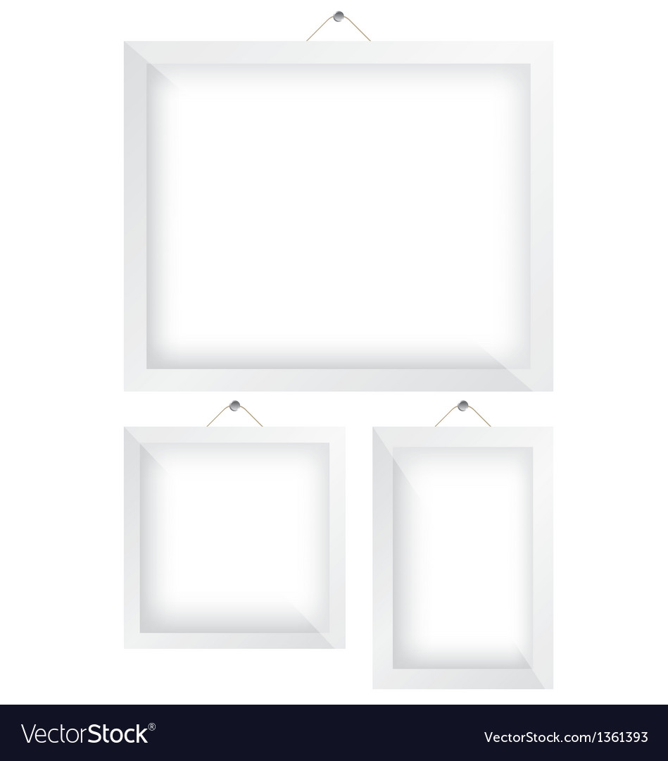 Frame white vector | Price: 1 Credit (USD $1)