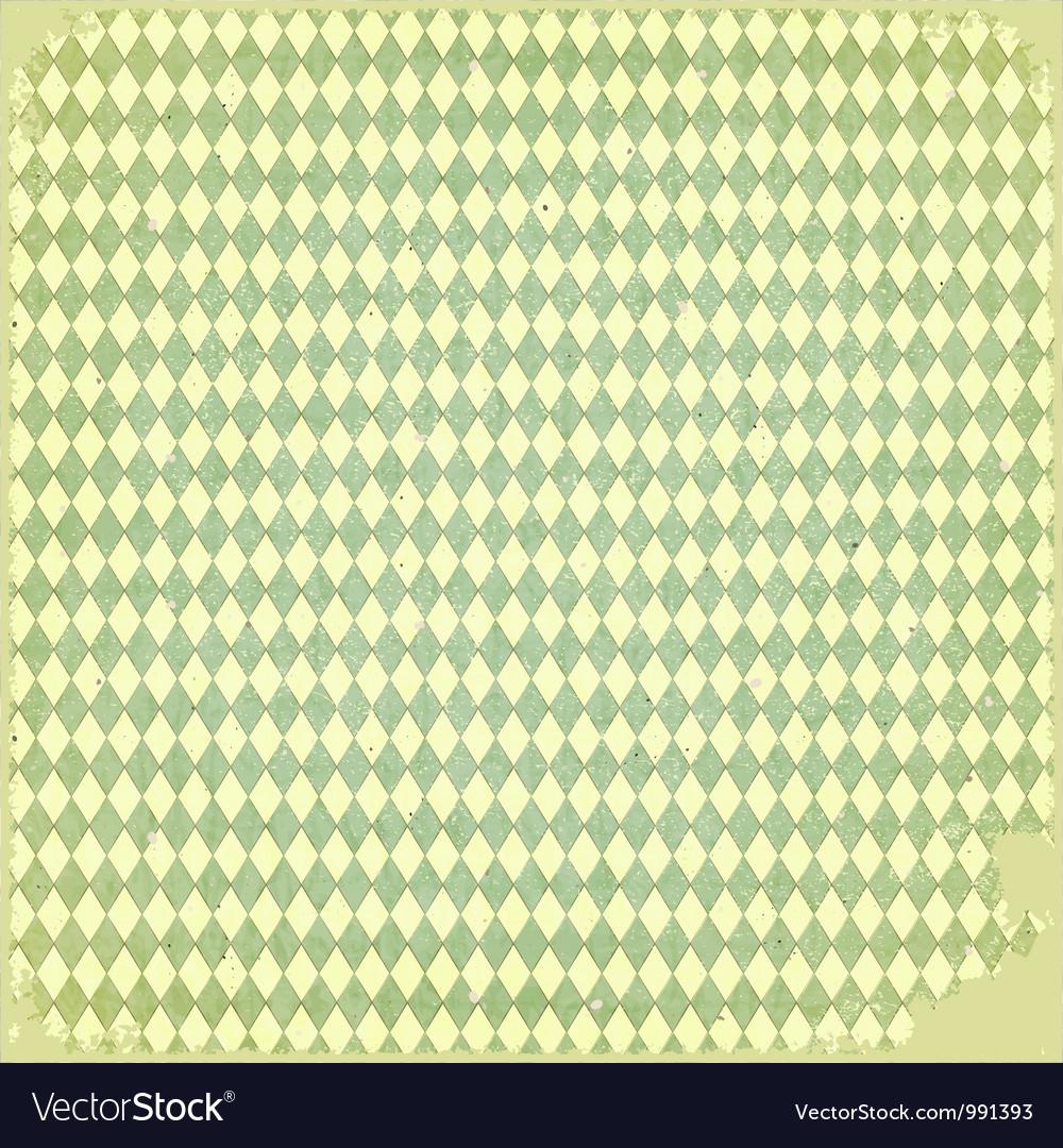 Grunge checkered background vector | Price: 1 Credit (USD $1)