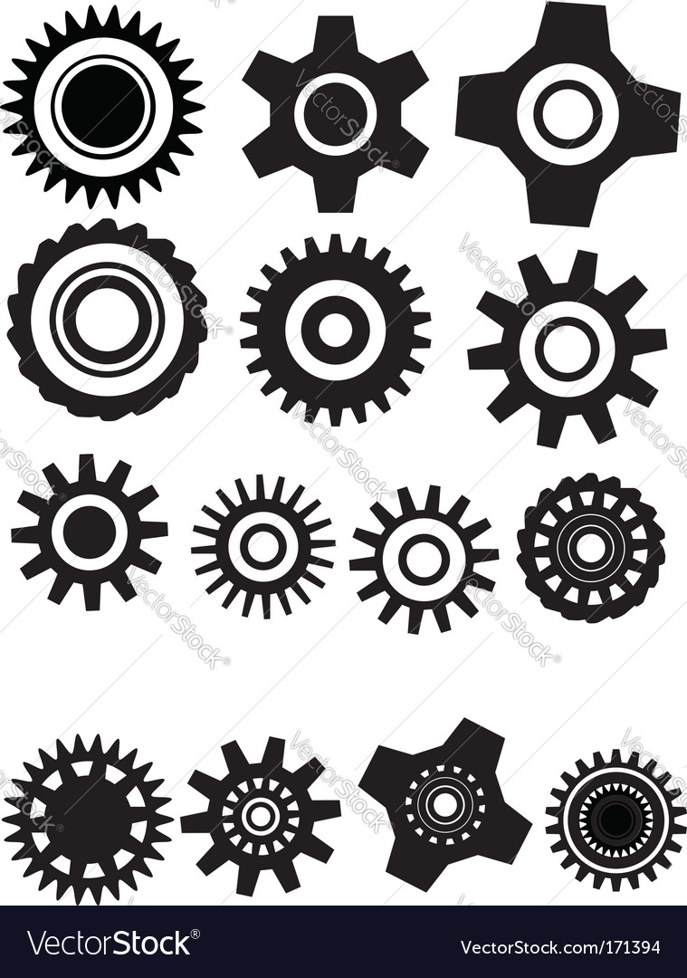 Gear wheel vector | Price: 1 Credit (USD $1)