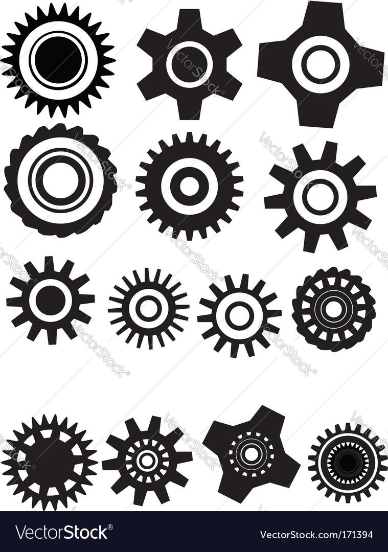 Gear wheel vector | Price: 1 Credit (USD $1)