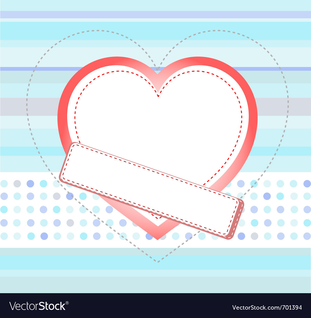 Heart card vector | Price: 1 Credit (USD $1)