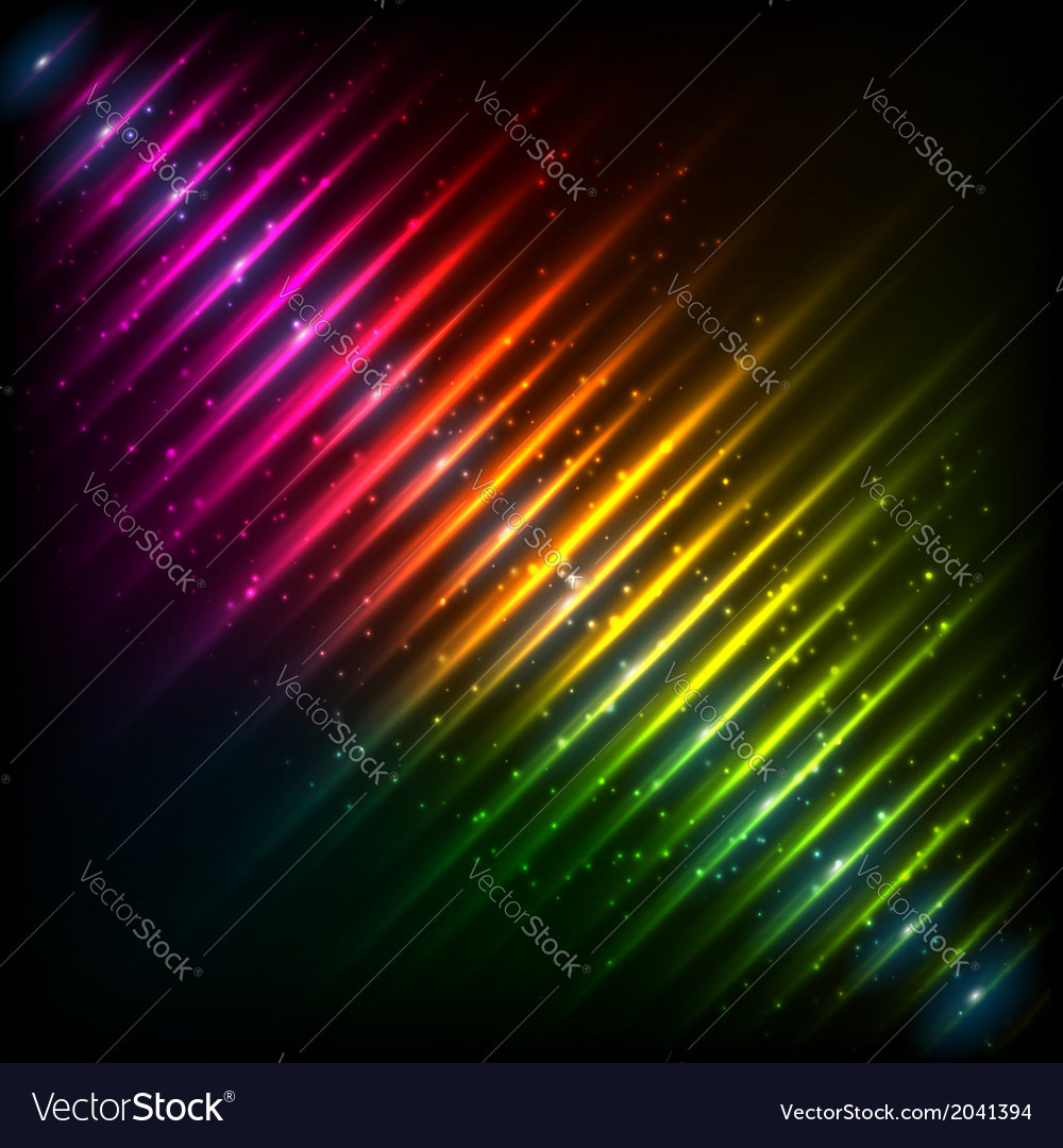 Rainbow neon diagonal equalizer vector | Price: 1 Credit (USD $1)