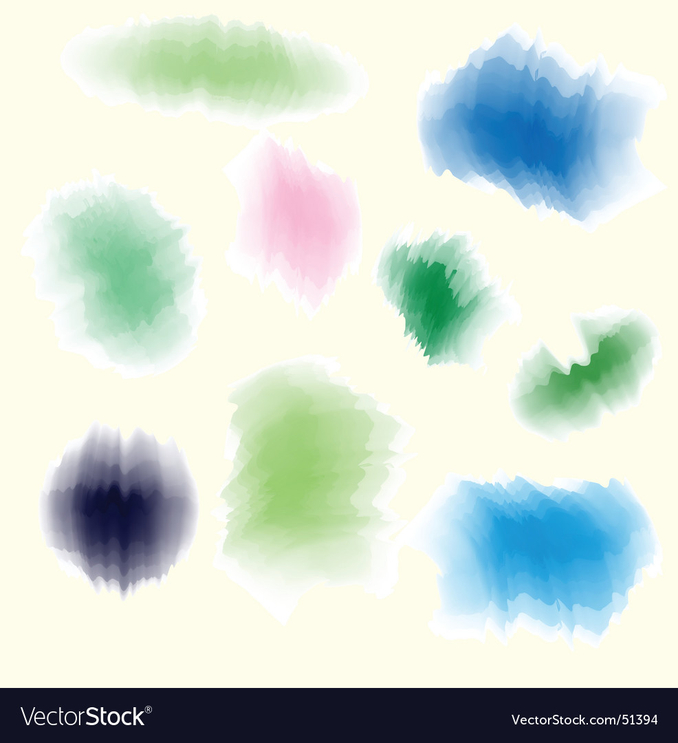 Water color effect vector | Price: 1 Credit (USD $1)