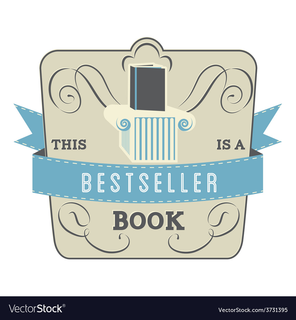 Bestseller book vector | Price: 1 Credit (USD $1)