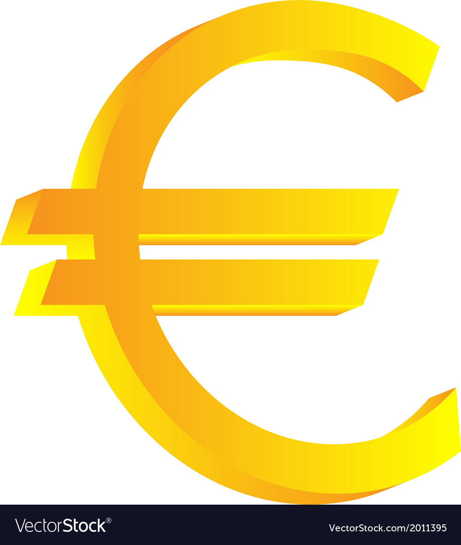 Euro icon vector | Price: 1 Credit (USD $1)