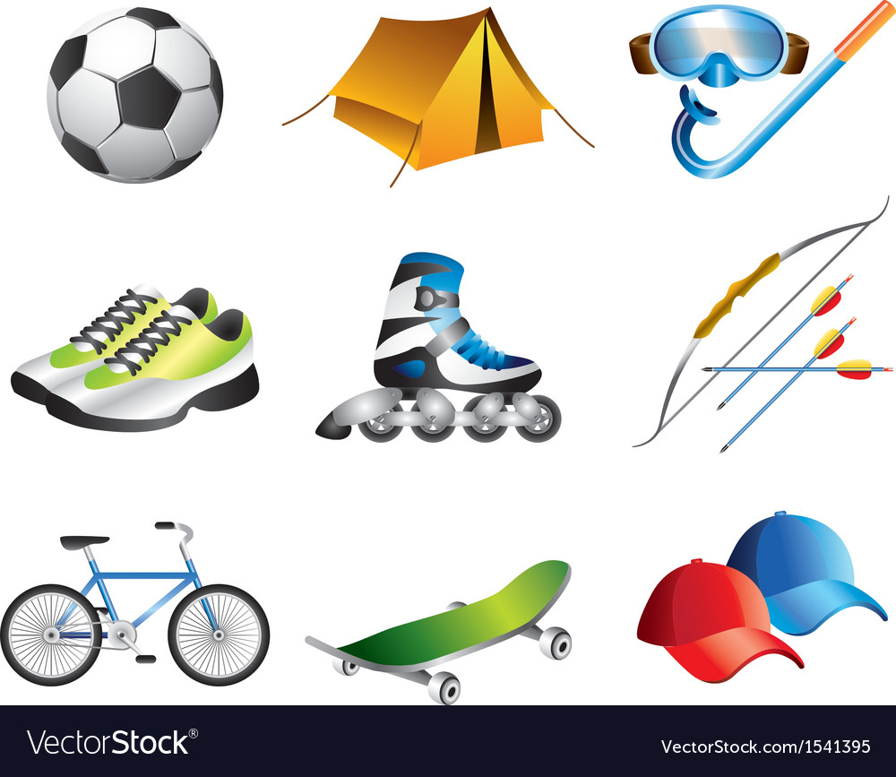 Icons sportshop vector | Price: 3 Credit (USD $3)