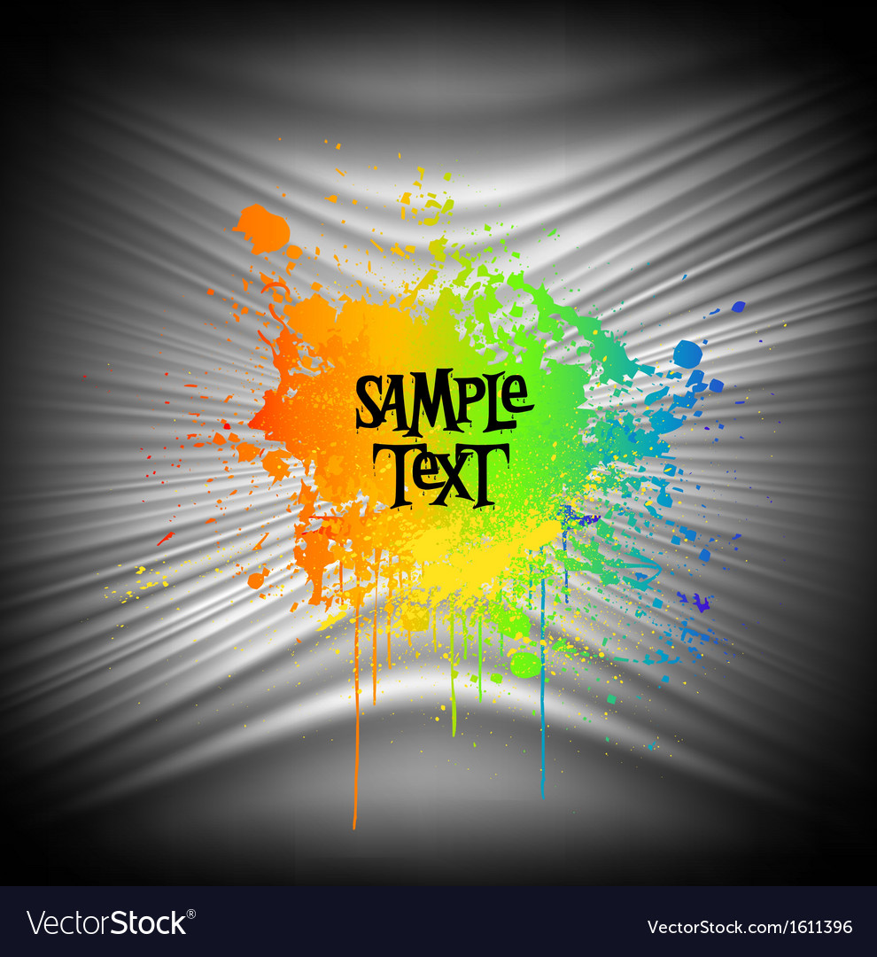Abstract paint splash background vector | Price: 1 Credit (USD $1)