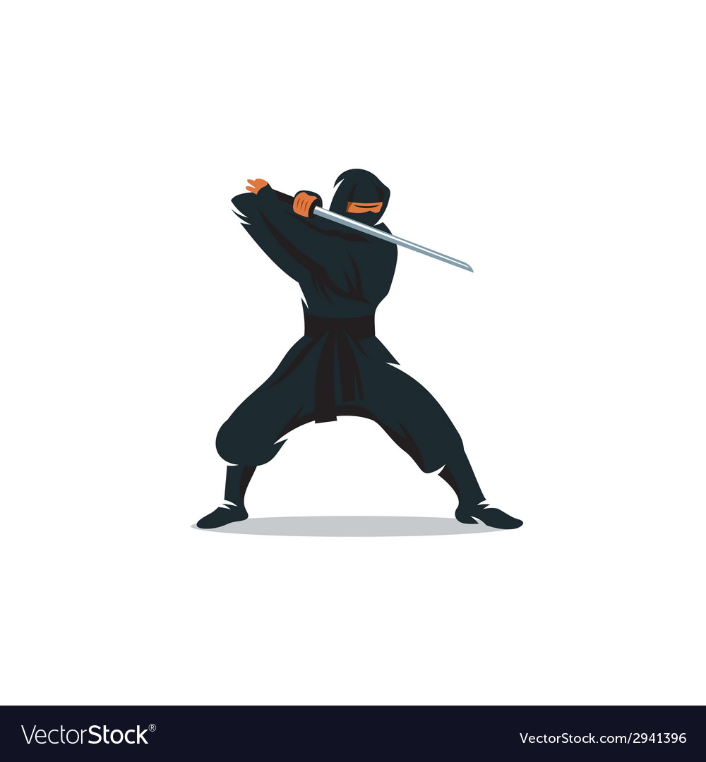 Ninja sign vector | Price: 1 Credit (USD $1)
