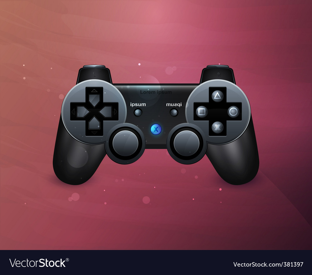 Joystick icon vector | Price: 1 Credit (USD $1)