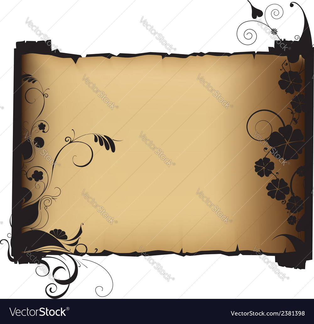 Ancient manuscript vector | Price: 1 Credit (USD $1)
