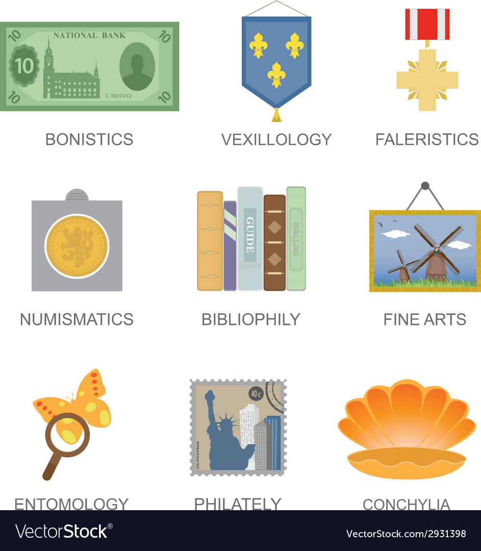 Collecting vector | Price: 1 Credit (USD $1)