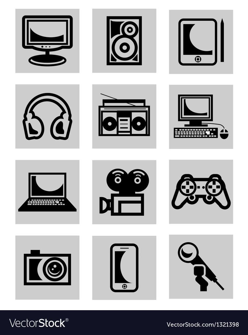 Computer technology vector | Price: 1 Credit (USD $1)