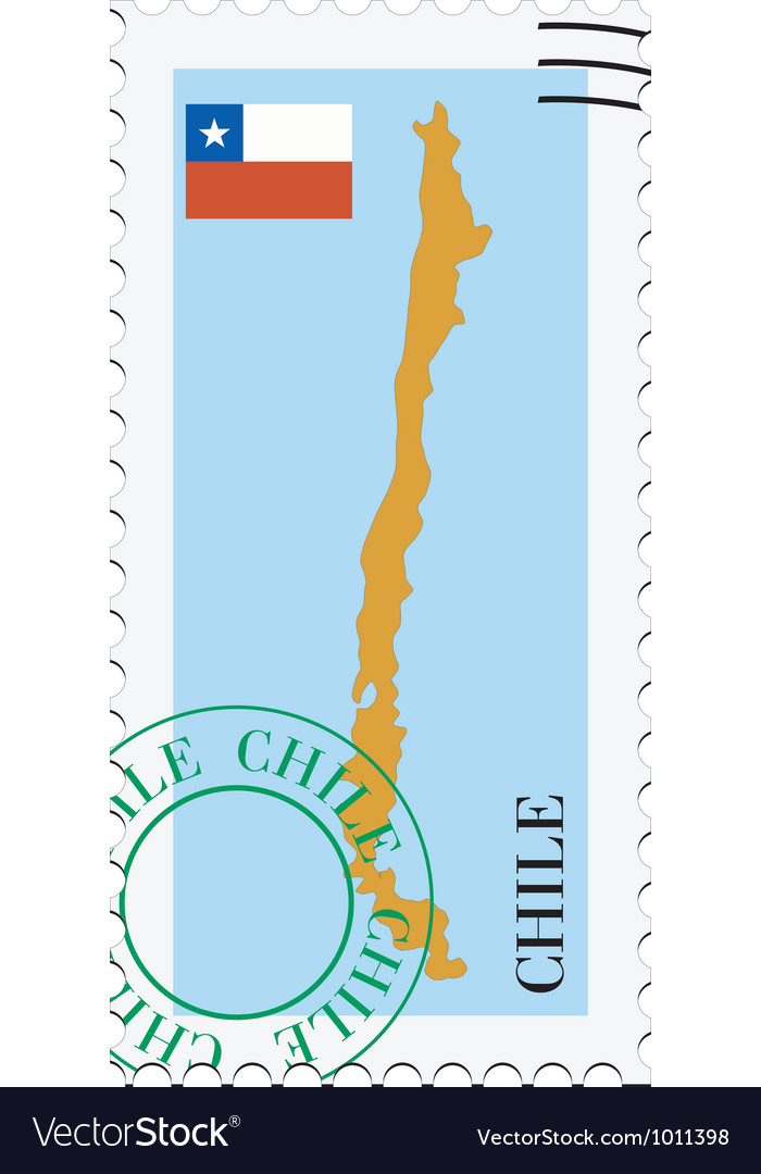 Mail to-from chile vector | Price: 1 Credit (USD $1)