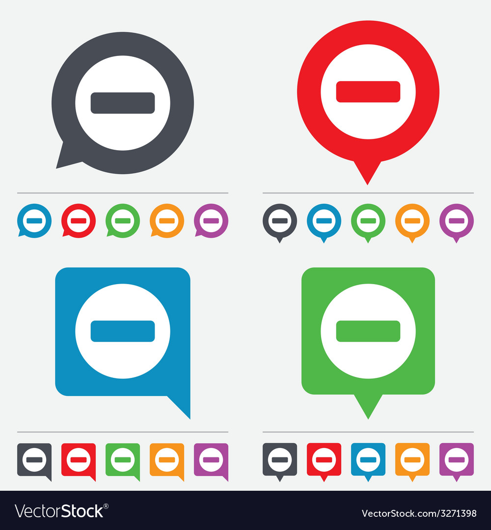 Stop sign icon prohibition symbol vector | Price: 1 Credit (USD $1)