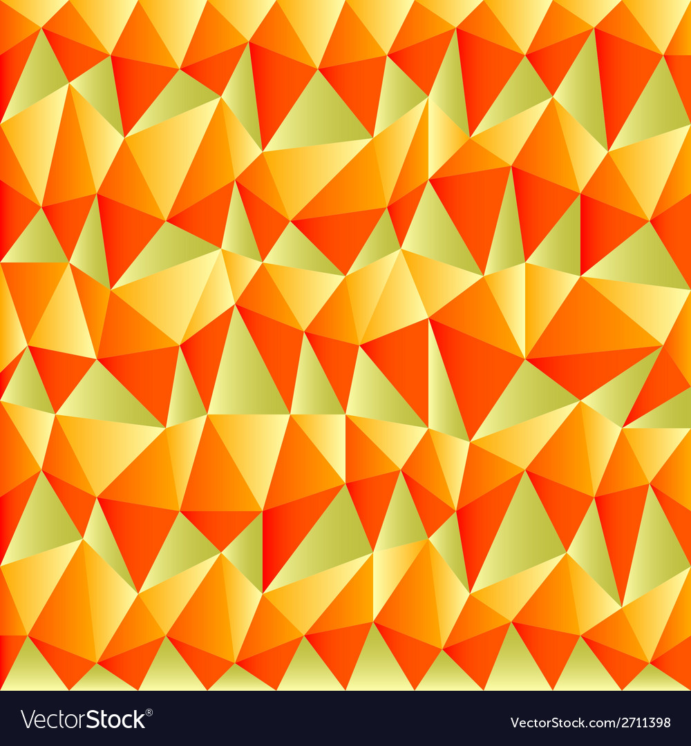 Triangular autumn background vector | Price: 1 Credit (USD $1)