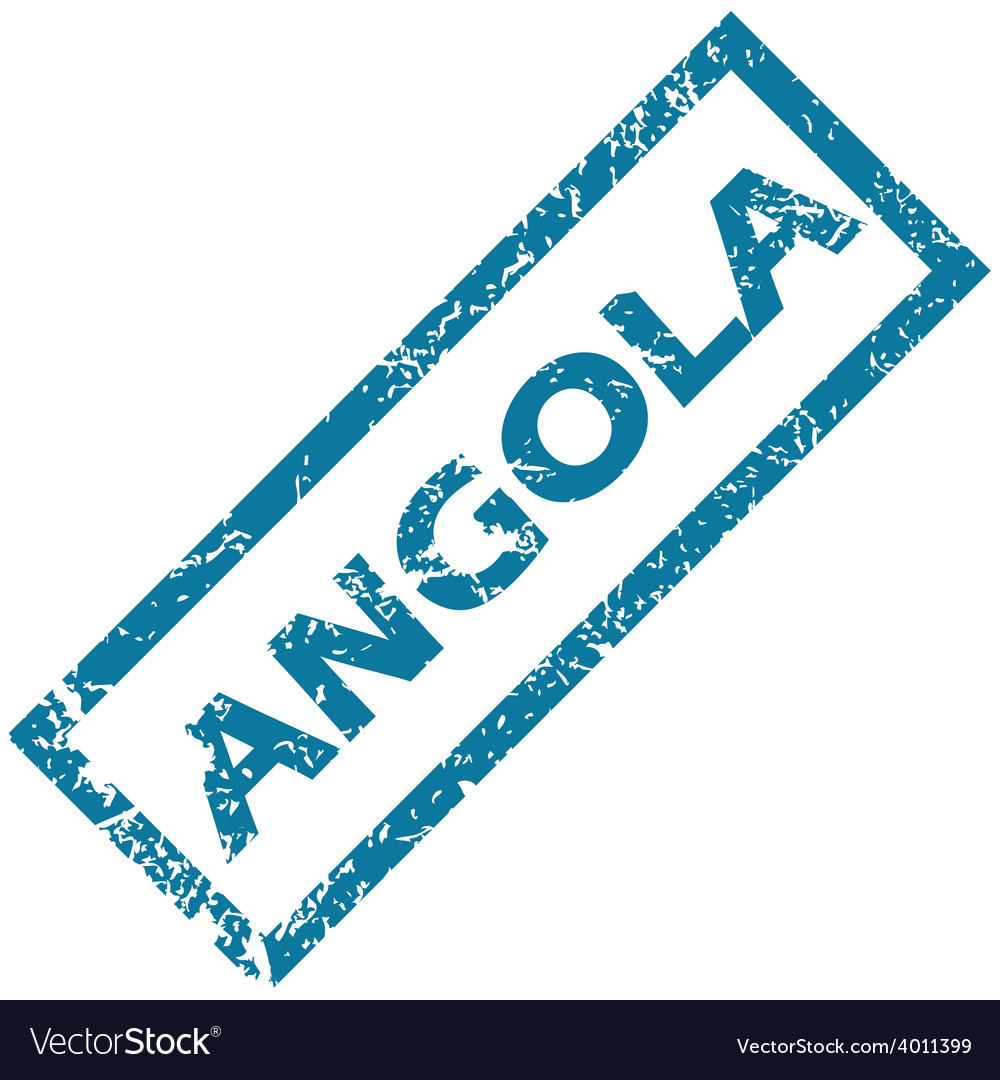 Angola rubber stamp vector | Price: 1 Credit (USD $1)