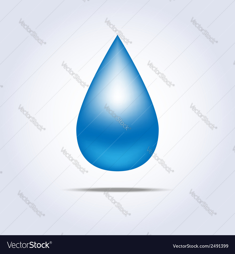 Drop icon vector | Price: 1 Credit (USD $1)