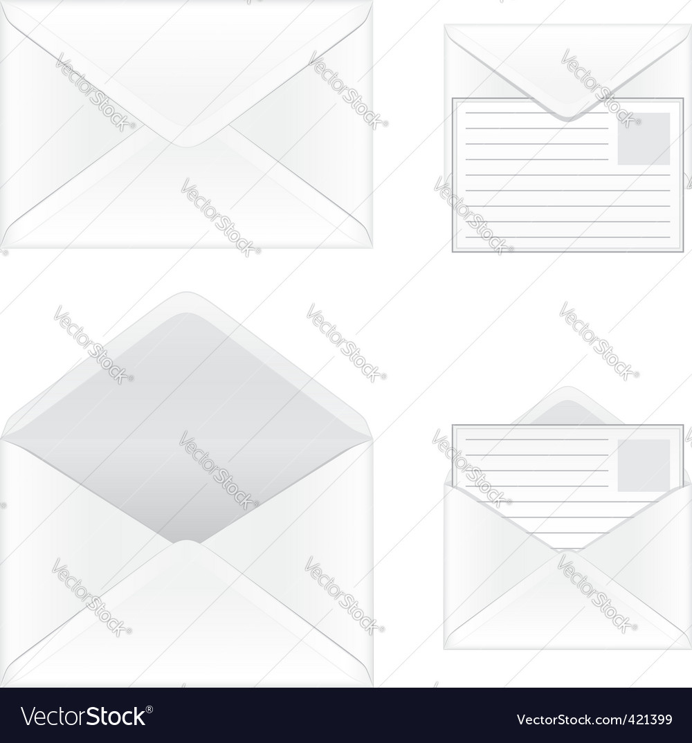 Envelope vector | Price: 3 Credit (USD $3)