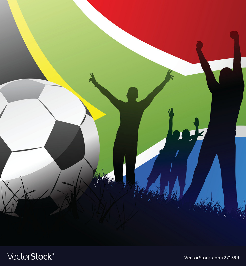 World cup south africa vector | Price: 1 Credit (USD $1)