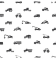 Heavy machinery icons seamless pattern eps10 vector