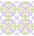 Childrens floral seamless pattern vector
