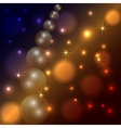 Abstract star and pearl dark background vector